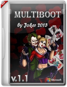 MultiBOOT by Joker (v.1.1) (x86+x64) [2013] Русский