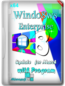 Windows 8 (x64) Enterprise Update for March with Program by Romeo1994 (2013) Русский