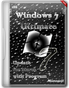 Windows 7 (x86) Ultimate Update for March with Program by Romeo1994 (2013) Русский