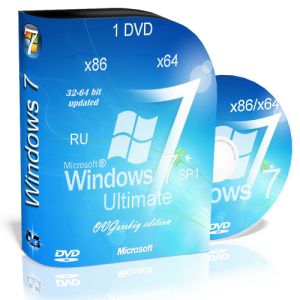 Windows 7 Ultimate nBook IE10 (x86/x64) [RUS | 03.2013] by OVGorskiy® 1 DVD
