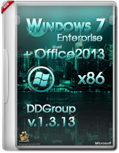 Windows 7 SP1 Enterprise x86 & Office2013 DDGroup (v.1.3.13) Русский