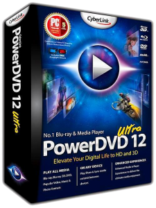 CyberLink PowerDVD Ultra 12.0.2625 Final + RePack by qazwsxe (2013) Русский + Английский