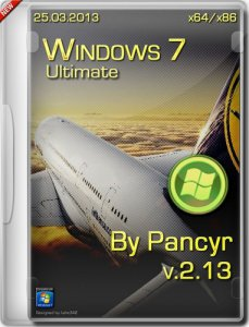 Windows 7 Ultimate SP1 by Pancyr (x86+x64) [25.03.2013] Русский