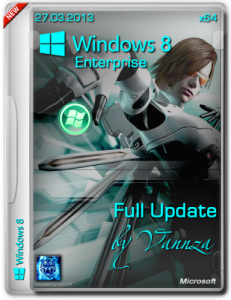 Windows 8 x64 Enterprise Full Update by Vannza (2013) Русский