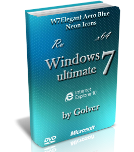 Windows 7 Ultimate SP1 x64 AeroBlue by Golver 04.2013 [Русский]