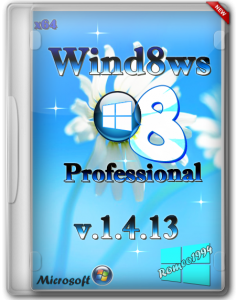 Windows 8 (x64) Professional v.1.4.13 by Romeo1994 (2013) Русский