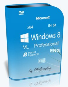Windows 8 x64 Pro VL En by OVGorskiy 03.2013 [����������]