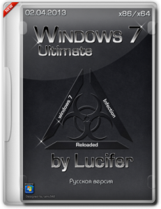 Windows7 Ultimate SP1 x86/x64 by Lucifer (2013) Русский