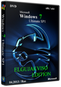 Windows 7 Ultimate SP1 x86/x64 Elgujakviso Edition (04.2013) Русский