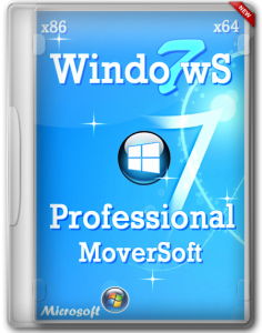 Windows 7 Pro SP1 x86/x64 by MoverSoft (2013) Русский