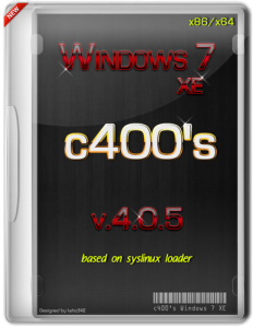 c400's Windows 7 XE v.4.0.5 x86/x64 [Rus/Eng] (Original + Add-ons)