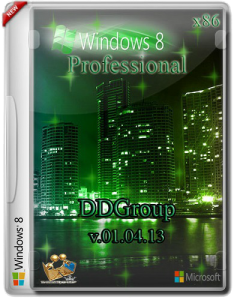 Windows 8 Pro vl x86 DDGroup [v.01.04.13] (2013) Русский
