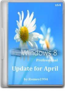 Windows 8 (x64) Professional Update for April by Romeo1994 (2013) Русский