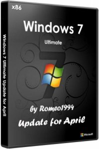 Windows 7 (x86) Ultimate Update for April by Romeo1994 (2013) Русский