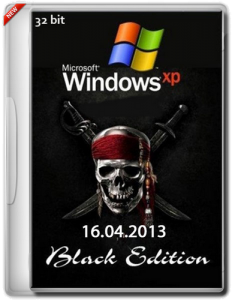 Windows XP Professional SP3 Black Edition (16.04.2013) (x86) [16.04.2013] [ENG + RUS]