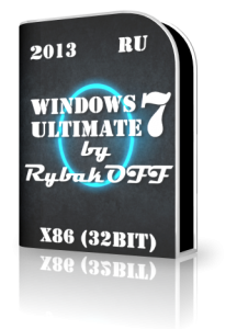 Windows 7 Ultimate x86 SP1 by RybakOFF - v13.4.13 (2013) Русский