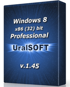 Windows 8 x86 Professional UralSOFT v.1.45 (2013) Русский