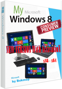 Windows 8 new Consumer Preview [x86-x64] by Bukmop (2013) Русский