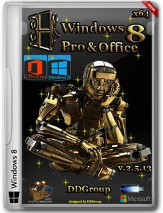 Windows 8 Pro vl x64 & Office 2013 by DDGroup 2.5.13 (2013) Русский