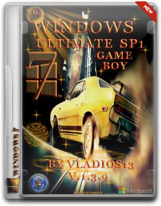 Windows 7 Ultimate SP1 x64 Game Boy by vladios13 1.3.9 (2013) Русский