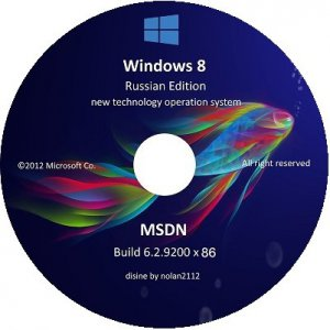 Microsoft Windows 8 Enterprise x86 RU V-XIII Exclusive by Lopatkin (2013) Русский