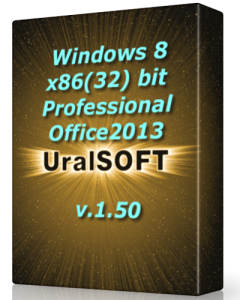 Windows 8 x86 Pro & Office2013 UralSOFT v.1.50 (2013) �������