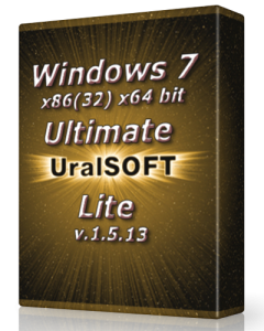 Windows 7 x86 x64 Ultimate UralSOFT Lite v.1.5.13 (2013) Русский