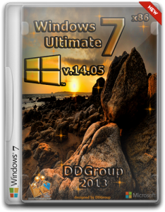 Windows 7 Ultimate SP1 x86 [v.14.05] by DDGroup (2013) Русский