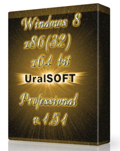 Windows 8 x86 x64 Pro UralSOFT v.1.51 (2013) �������