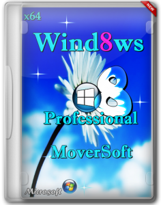 Windows 8 Pro x64 by MoverSoft 05.2013 (2013) Русский