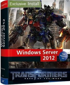Microsoft Windows 8 Server 2012 Standard x64 RU V-XIII Exclusive v2 (2013) Русский