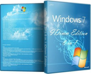 Windows 7 SP1 8 in 1 IDimm Edition v.02.13 (2013) Русский