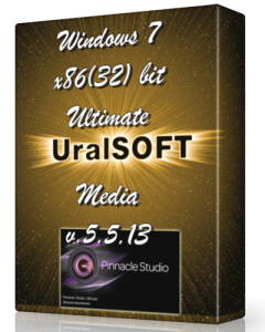 Windows 7 x86 Ultimate UralSOFT Media v.5.5.13 (2013) Русский