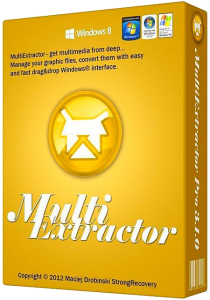 MultiExtractor Pro v3.3.0 Final / RePack by AlekseyPopovv / Portable (2013) Русский присутствует
