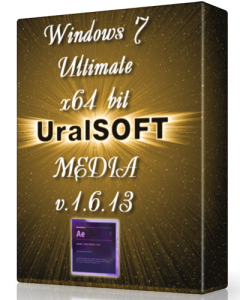 Windows 7 x64 Ultimate UralSOFT Media v.1.6.13 (2013) Русский