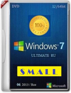 Microsoft Windows 7 Ultimate SP1 x86-x64 RU VI-XIII Small by Lopatkin (2013) Русский