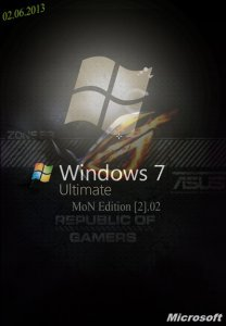 Windows 7 SP1 Ultimate x86 MoN Edition [2].02 (2013) Русский