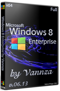 Windows 8 x64 Enterprise Vannza Full 06.13 (2013) Русский