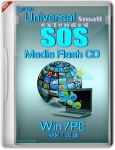 Universal SOS-Media Flash-CD-HDD Top Box Win7PE RAM128gb BasisSmallExt v2 by Lopatkin (2013) Русский
