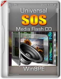 Universal SOS-Media Flash-CD-HDD Top Box Win8PE RAM128gb VI-XIII by Lopatkin (2013) Русский