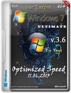 Windows 7 Ultimate (x64) Optimized Speed by Yagd v.3.6 Rus [11.06.2013] �������
