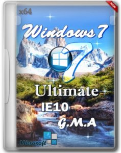 Windows 7 Ultimate SP1 IE10 x64 G.M.A. v.13.06.13 (2013) Русский