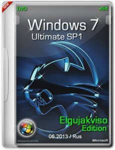 Windows 7 Ultimate SP1 x64 Elgujakviso Edition 06.2013 (2013) Русский