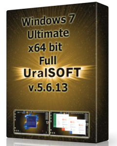 Windows 7 x64 Ultimate UralSOFT Full v.5.6.13 (2013) �������