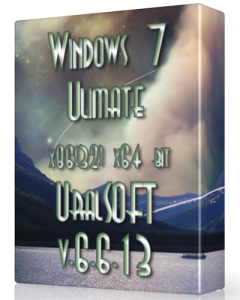 Windows 7 x86 x64 Ulimate UralSOFT v.6.6.13 (2013) Русский