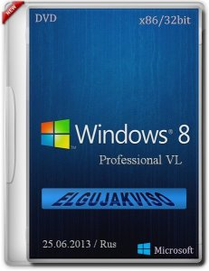 Windows 8 Pro VL x86 Elgujakviso Edition 06.2013 (2013) Русский