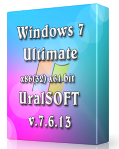Windows 7 x86 x64 Ultimate UralSOFT v.7.6.13 (2013) Русский