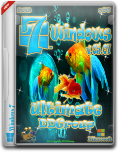 Windows 7 Ultimate SP1 x86 [ v.05.07 ] by DDGroup (2013) Русский