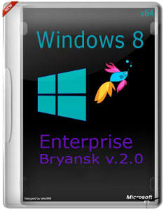 Windows 8 x64 Enterprise x64 v.2.0 Bryansk (2013) Русский