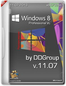 Windows 8 Pro vl x86 [ v.11.07 ] by DDGroup (2013) Русский